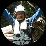 飛騨の森ガイド協会会員 池田 義信