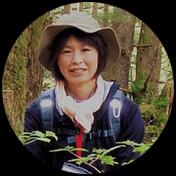 飛騨の森ガイド協会会員 塚越 奈津子