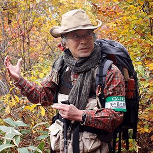 飛騨の森ガイド協会会員岩佐勝美